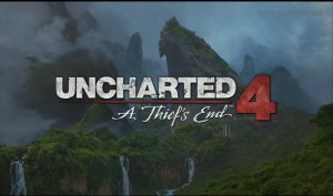 Uncharted 4 - Title Art