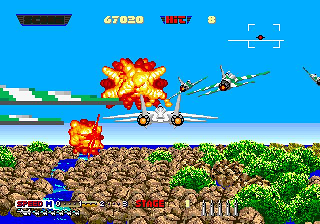 After Burner II - Gameplay