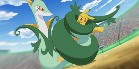 Serperior - Anime Art