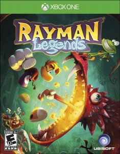 Rayman Legends - Xbox One Box Art