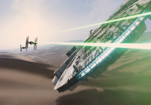 Star Wars 7 - Footage