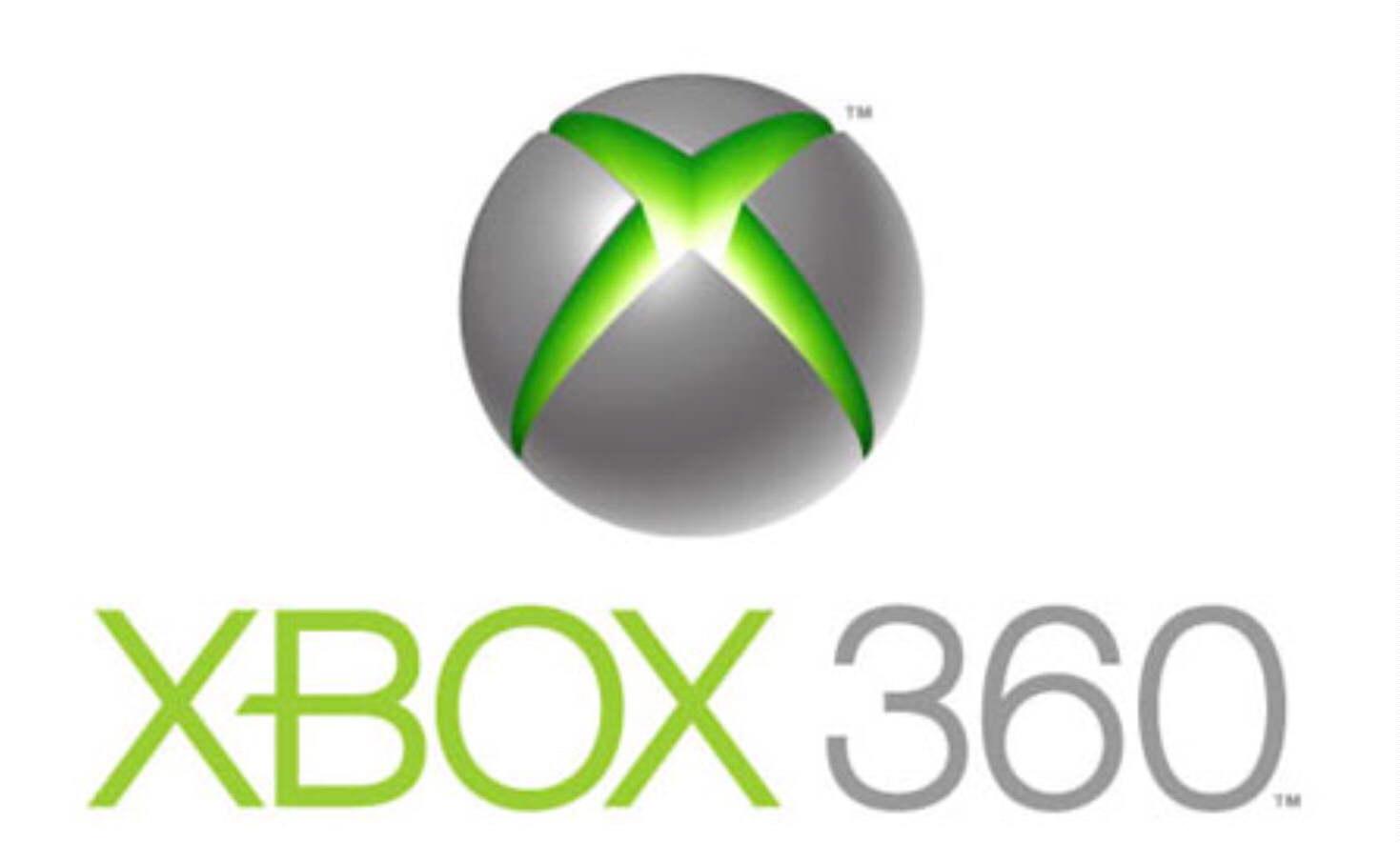 Xbox 360 Logo Black Xbox 360
