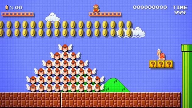 Mario Maker - Gamepaly