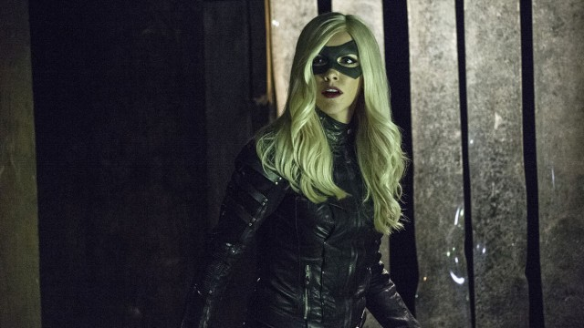 """Arrow -- """"Midnight City"""" -- Image AR311A_0425b -- Pictured: Katie Cassidy as Black Canary -- Photo: Cate Cameron/The CW -- © 2015 The CW Network, LLC. All Rights Reserved."""