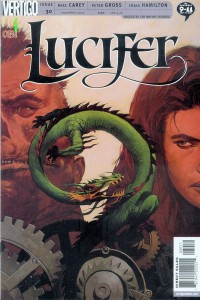 Lucifer - Comic Cover
