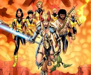 New Mutants - Comic Art 1