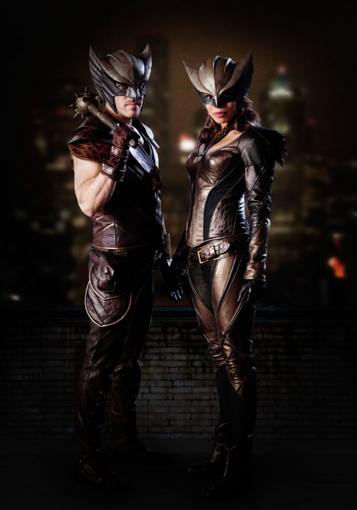Legends - Hawkman, Hawkgirl