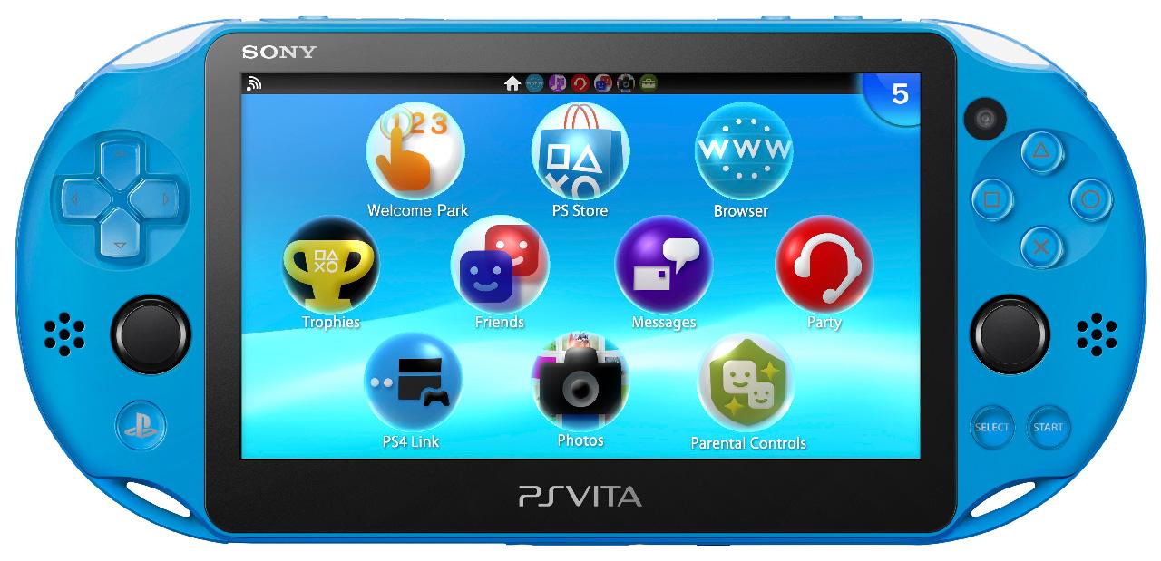 Sony selling Aqua Blue PlayStation Vita handheld this Fall