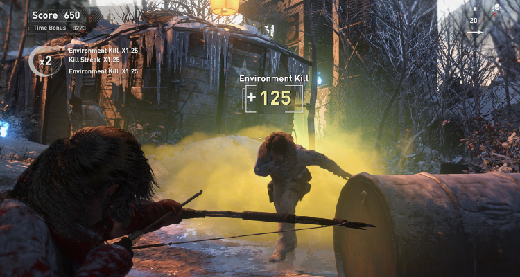 Rise Of The Tomb Raider S Difficulty Levels Explained Eggplante