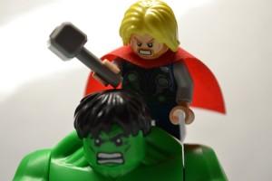 Thor and Hulk - LEGO