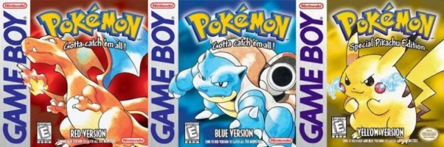 Pokemon RBY - Box Art