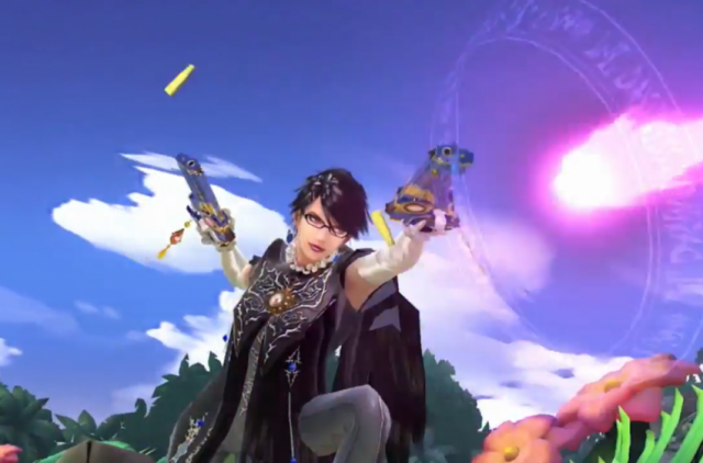 SSB - Bayonetta Gameplay