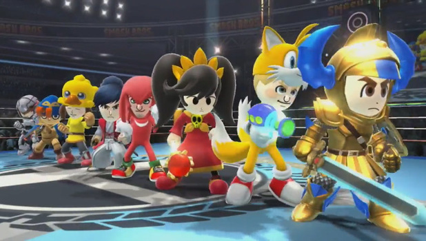 SSB - Mii Fighters
