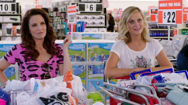 "Tina Fey and Amy Poehler in ""Sisters."""