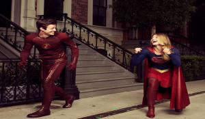 Flash, Supergirl - Art