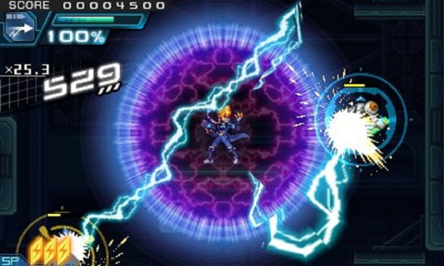 Azure Striker Gunvolt 2 - Gameplay