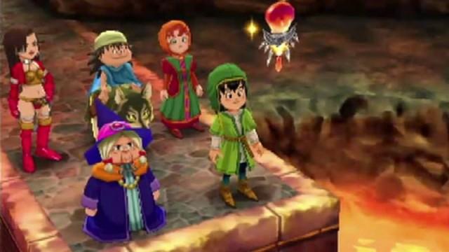 Dragon Quest VII - Gameplay