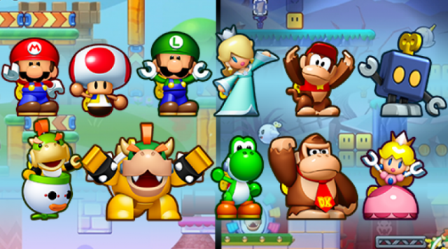 Mini Mario and Friends Amiibo Challenge - Gameplay