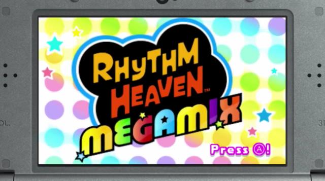 Rhythm Heaven Megamix - Gameplay