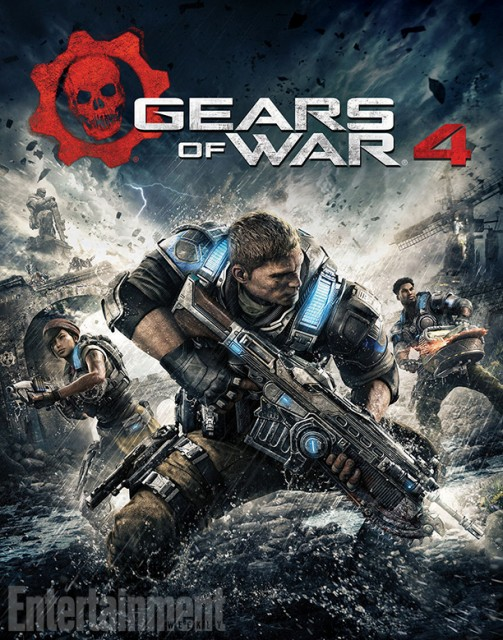 Gears of War 4 - Box Art