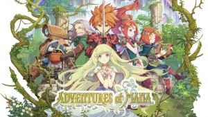 Adventures of Mana - Art