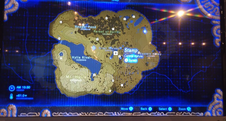 Breath Of The Wild World Map Maps Catalog Online