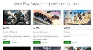 Xbox Play Anywhere - Art