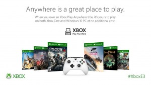 Xbox Play Anywhere - Info