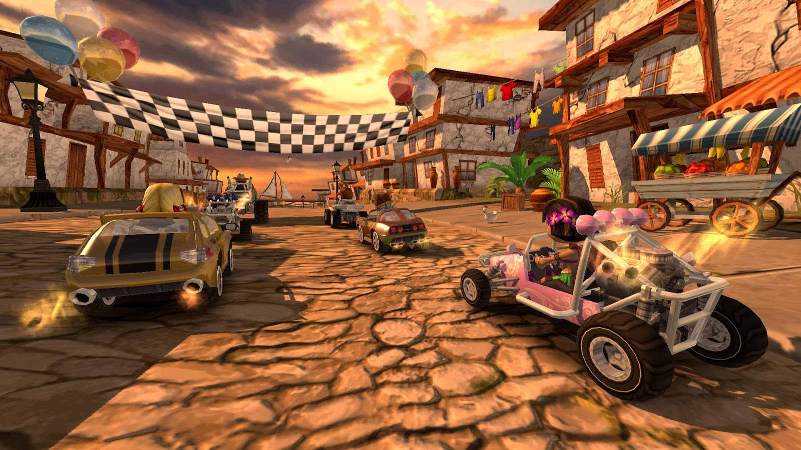 Beach Buggy Racing 2 Is Coming To Mobile This Summer Steam And Consoles Later On Eggplante